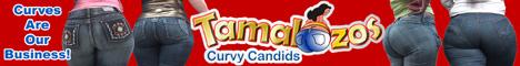 Curvy Candids